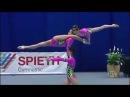 Потрясающее выступление российских гимнасток!