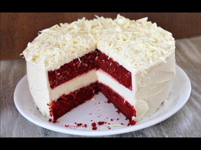 Торт «Красный бархат» | Сладкие шалости