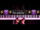 The Weeknd - Starboy ft. Daft Punk | The Theorist Piano Cover