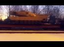 Срочно! Сегодня 08.02.2017 замечены танки Абрамс на станции Красный Лиман