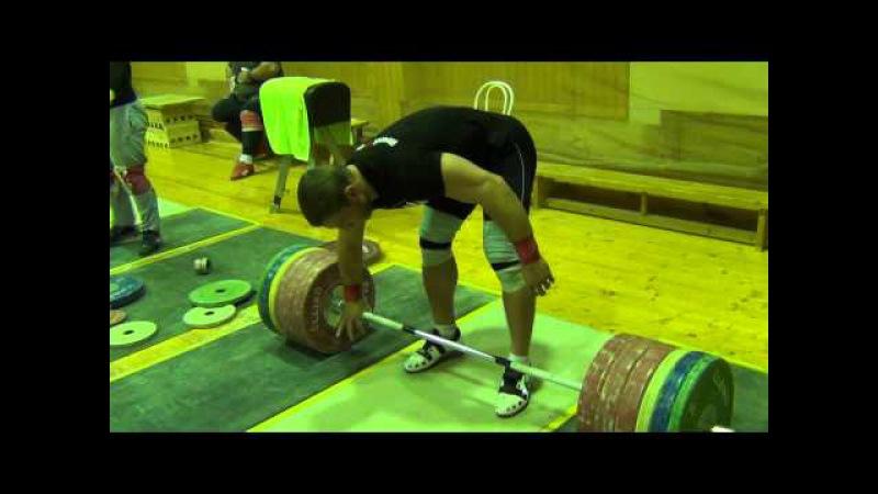 Dmitry Klokov - Dead lift - 260 kg