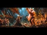 The Hobbit - Goblin King vs Gandalf HD