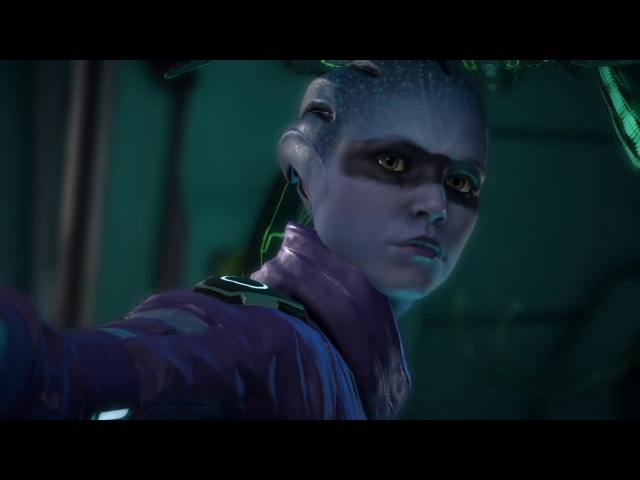 Mass Effect™: Andromeda - Kissing with Peebee