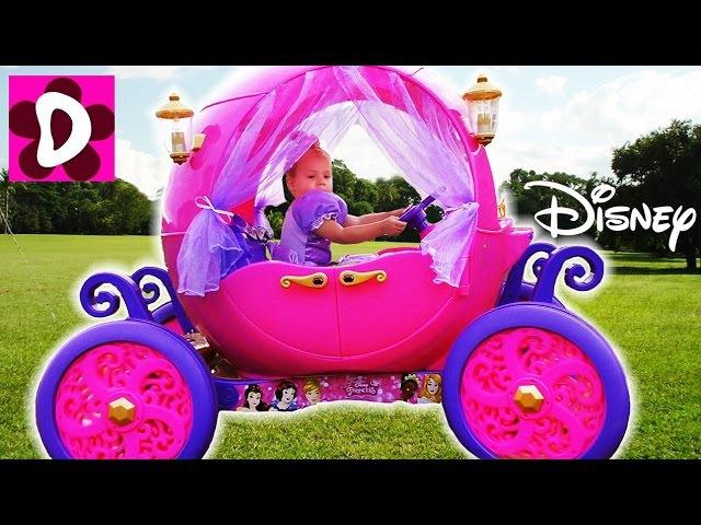 Волшебная Карета Принцессы В РЕАЛЬНОЙ ЖИЗНИ Disney Princess Carriage in real life Видео для Детей