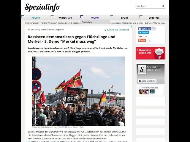 Augenzeugenbericht zur Steuerung der Patrioten in Deutschland !