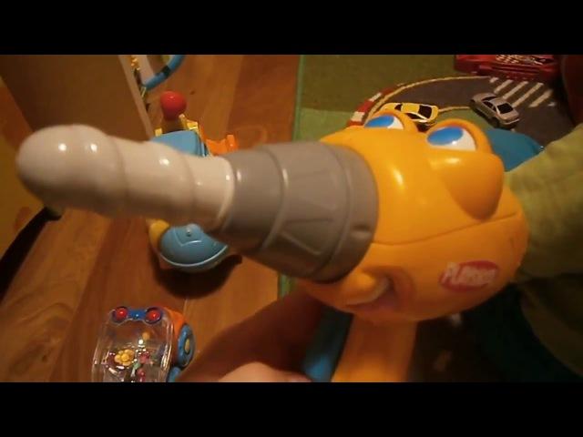 Детская игрушка-дрель. Купил в Баюшке ребенку. Жена не нарадуется