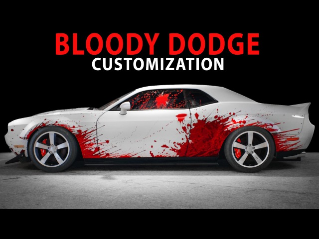 NFS 2015 - Bloody Dodge (Cinematic / Speed Art / Customization / PC)