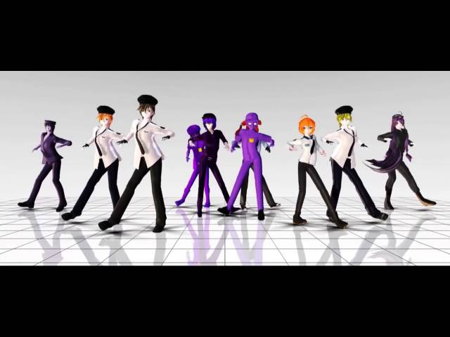 MMD FNAF - Security Dance
