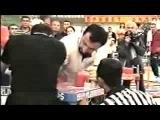 Осетин Казбек Золоев в белом, Чемпионат Мира финал 1999 год, соперник Грузин