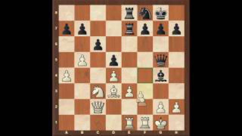 Карлсбадская пешечная структура занятие 1