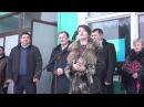 У Приазовському районі відкрили газопровід і водогін.