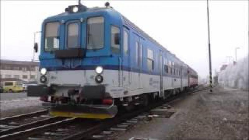 Šocení | Vlaky ve stanici Uherské Hradiště 2.1.2017