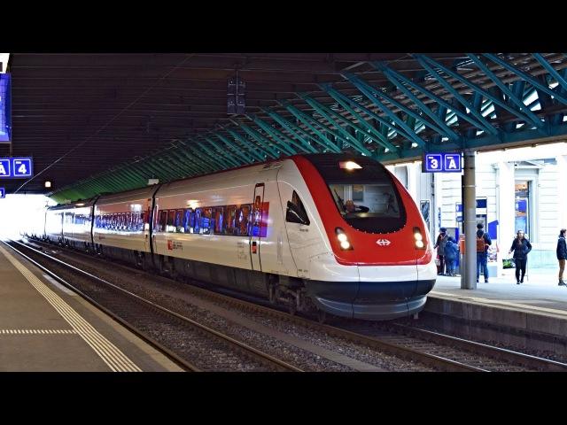 SBB CFF FFS RABDe 500 008 ICN 1516 St Gallen ► Lausanne Winterthur