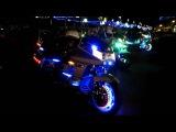 Blackpool GoldWing Light Parade 2010 - Static Light Display (Part 1)