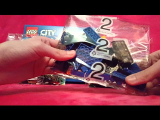 Lego City Van And Caravan 60117 Opening Box