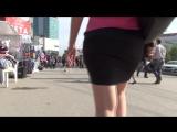 SEXy Girl in Mini Skirt !!! ШИКарная девушка в короткой юбке !!! Part Two