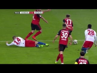 Гамбург - Фрайбург | Хунт А. (Незабитый пенальти) | Hamburger SV vs Freiburg