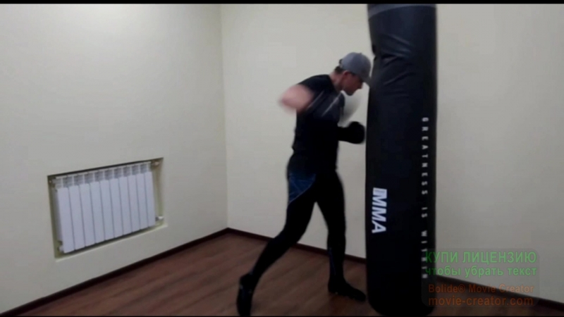 Работа по груше тренер Ризванов А.Р