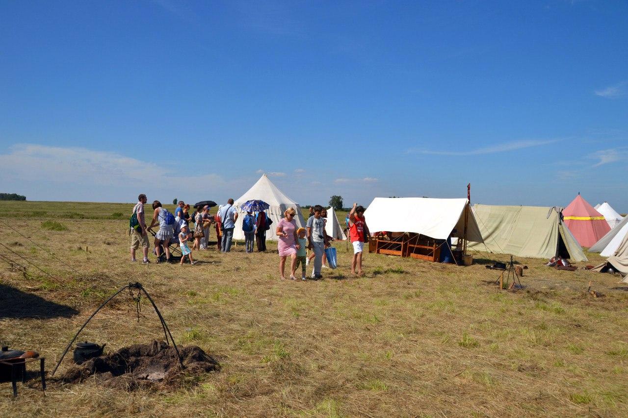 Зрители в лагере