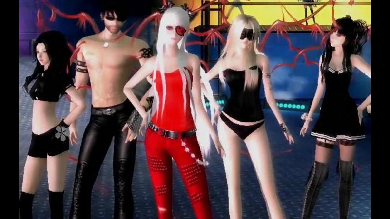 клан MIR 4D Ангелы и Демоны Пара па город танцев
