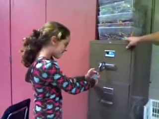 Girl handcuffed young