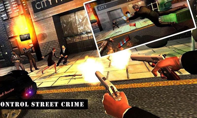 Police Secret Agent Crime Gang
