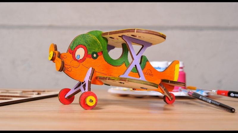 3D моделі-розмальовки UGEARS