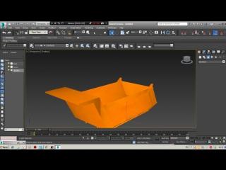 Развертка и запекание текстур в программе 3DS Max
