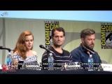 Batman v Superman Dawn of Justice Comic Con Panel - Ben Affleck, Henry Cavill, G