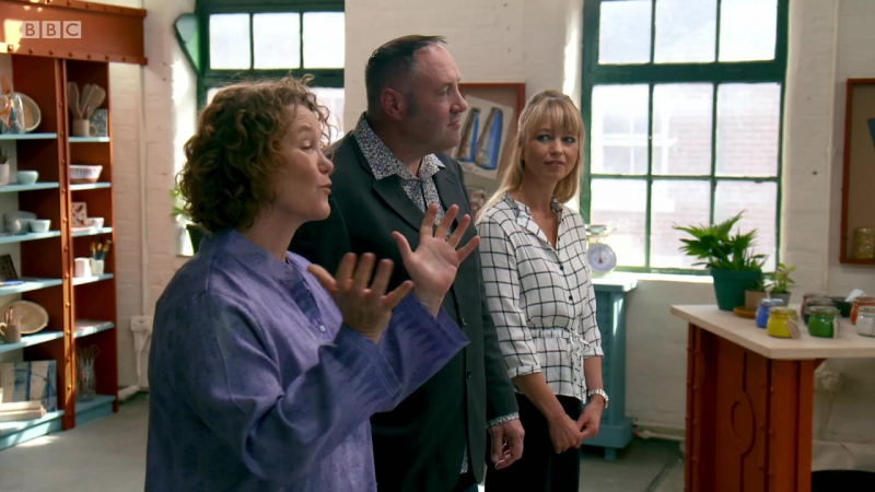 BBC2 The Great Pottery Throw Down Series 2 Episode 1