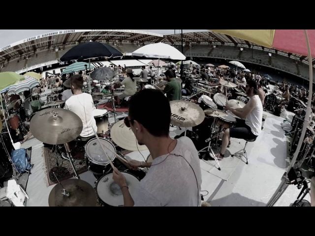 Rockin'1000 That's Live 2016 - Come Together - The Beatles