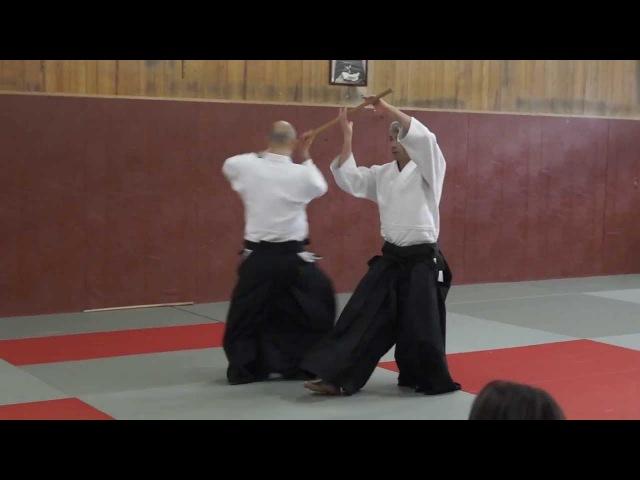 Aikido: Bruno Gonzalez Pascal Guillemin Vincennes 2013