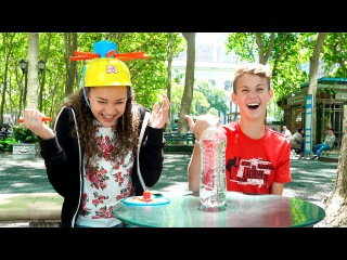 Wet Head Challenge! (MattyBRaps vs Gracie Haschak)