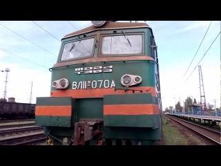 Грузовой электровоз ВЛ11м-070 (ТЧ-2 Кривой Рог) УЗ