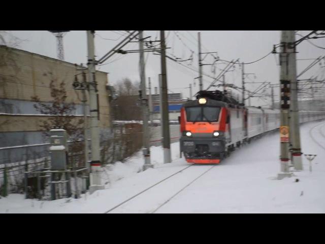 ЭП20-041 Олимп I ТЧЭ-33 Ожерелье-Сортировочное, c пассажирским поездом 143С