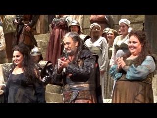 NABUCCO - Domingo; Levine - Met Opera, Dec 12, 2016 - Curtain Calls
