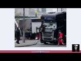 99.9 Berlin Germany Stage Truck Attack False Flag Hoax - War on Pagan Christmas Shoppers
