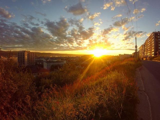 Мурманск, прогулки по Мурманску, Мурманск Летом-гора дураков