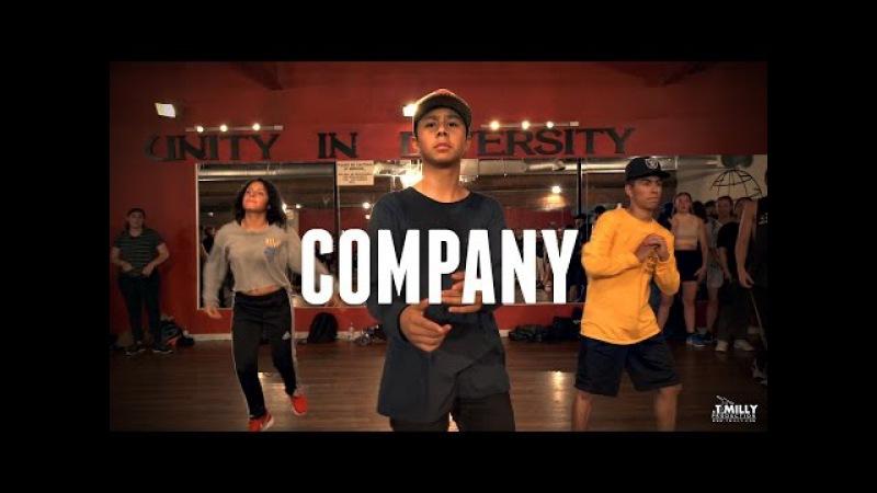 Justin Bieber - Company - Choreography by Alexander Chung - Filmed by @TimMilgram