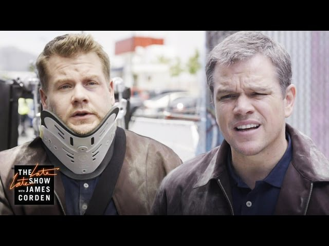 Jason Bourne Stunt Double w Matt Damon