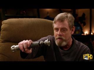 Mark Hamill and His Return of the Jedi Prop Lightsaber Reunite in Pop Culture Quest Clip