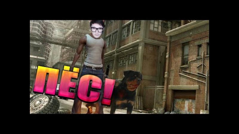 GTA 5 Online Смешные моменты - RipAngel и другие животные