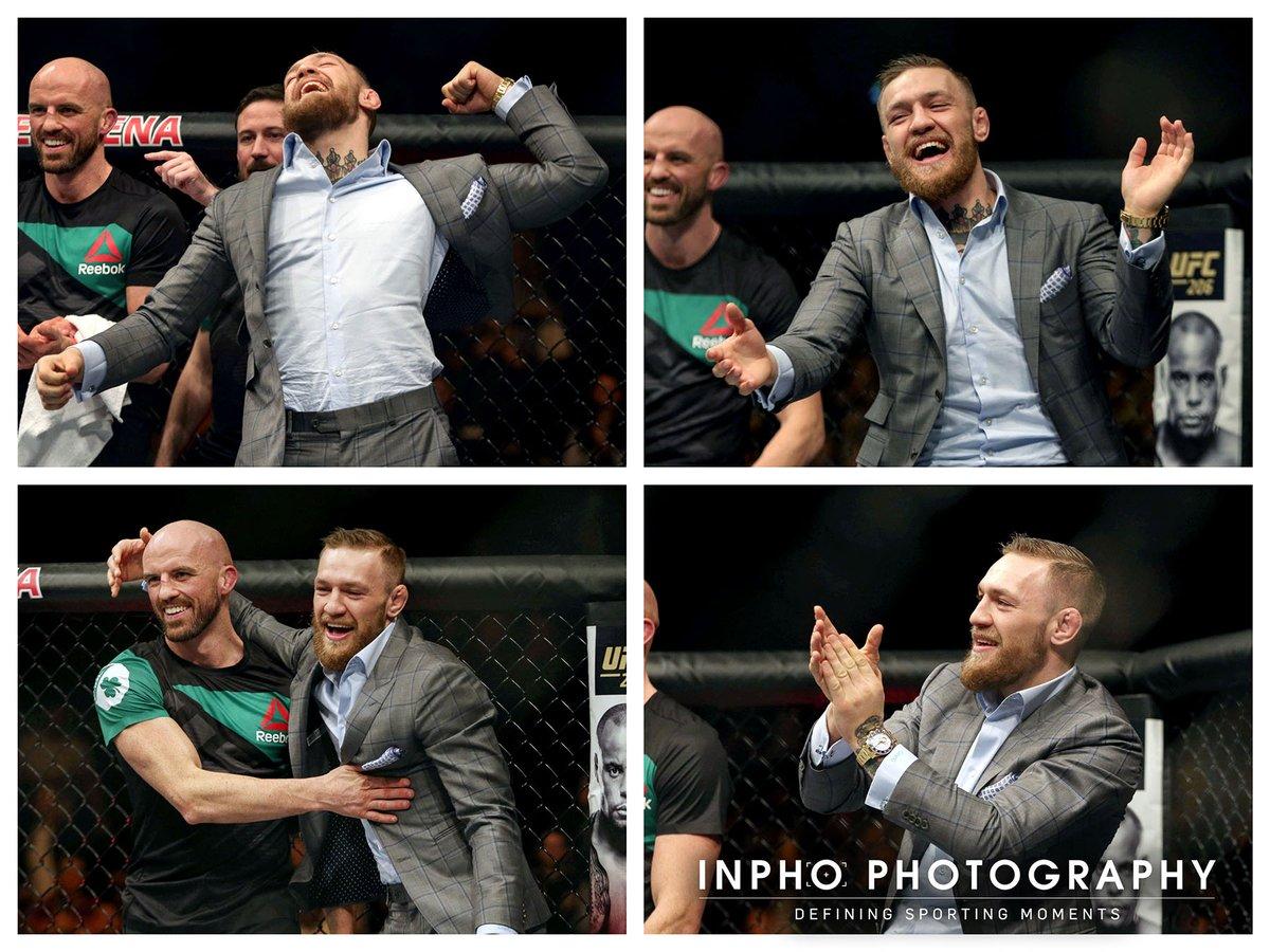 Конор Макгрегор после  победы Артема Лобова  на UFC Fight Night 99