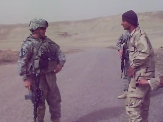 American soldiers vs iraqi soldiers dance off