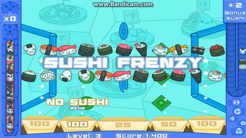 Суши кот 2 - серия 1 - Sushi cat 2