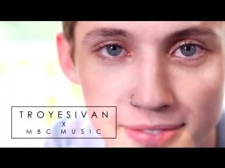Troye filmed for mbcplusmusic while in Korea!