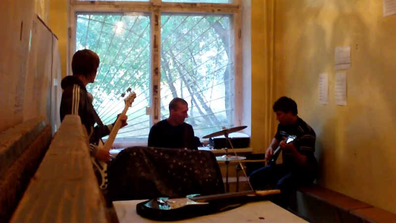 АЭЛАНТИЯ - 16.09.2012 - Репетиция (пока басист на отдыхе) part 1