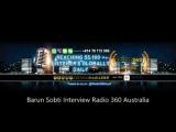Барун в гостьях Radio 360 Australia 14.10.2016г