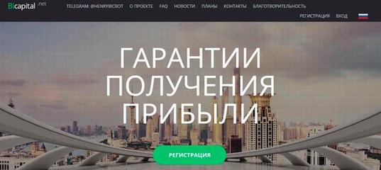 Мониторинг инвестиционного проекта Bicapital