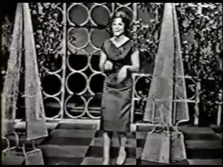 CONNIE FRANCIS ON TV- LIPSTICK ON YOUR COLLAR (1959)